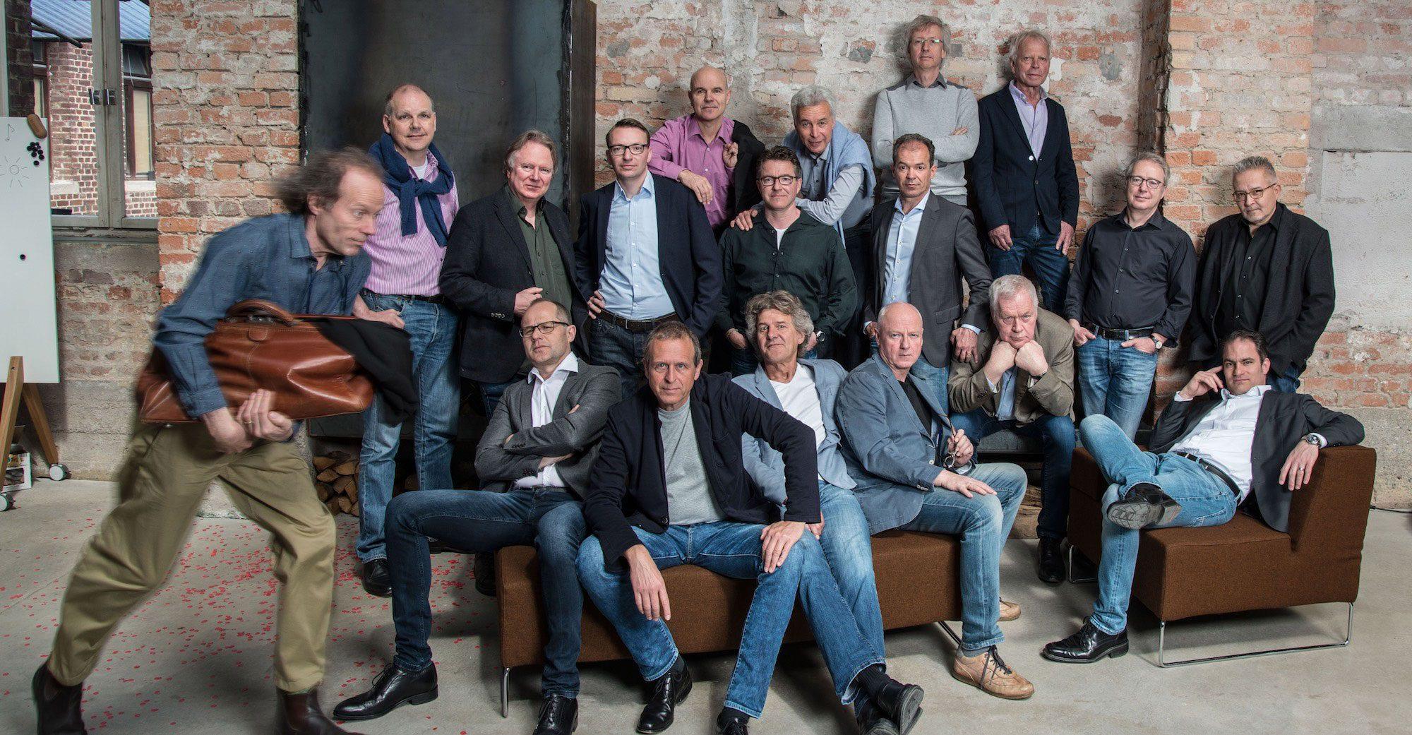 Die Sänger vom HardChor Heidelberg